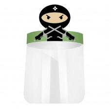 Ninja Face-shield for Kid Personal Protective Equipment  500pcs