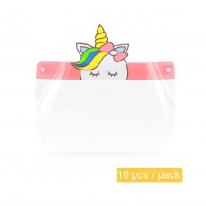 Unicorn Face-shield for Kid Personal Protective Equipment 500pcs