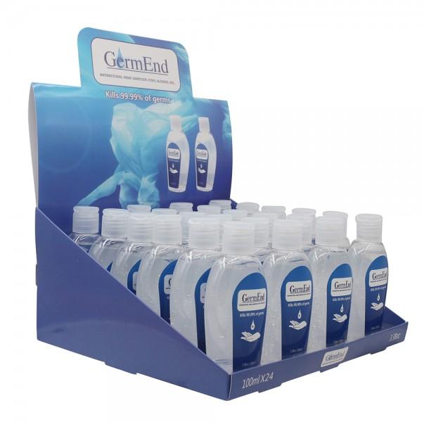 3.38 fl oz (100mL)  Hand Sanitizer Gel 75%  Alcohol w/ Aloe Vera Travel & Pocket Size (96 units/case) Save Up 20% by Pallet (5184 units / 54 cases)  $0.72 per unit  $69.12/Bulk wholesale $0.90/$86.40