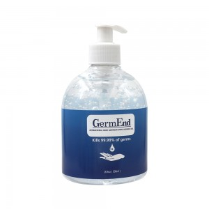 33.8 fl oz (500 ml) Hand Sanitizer Gel 75% Alcohol w/ Aloe Vera (12 ) unit per case)