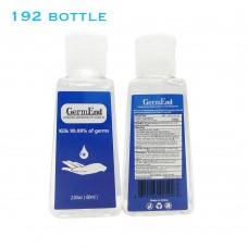2.03 fl oz (60mL) Hand Sanitizer Gel 75% Alcohol w/ Aloe Vera Travel & Pocket Size (192 units/case)
