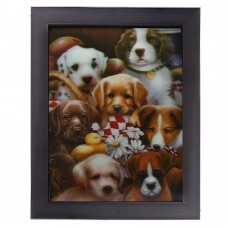 103 Puppies 3D Picture size 14 x18