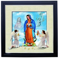 405 Guadalupe 5d Lenticular Picture Frame 18x18