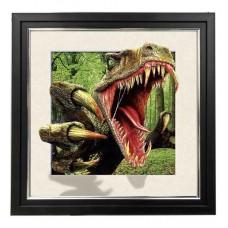 401 Raptor 5d Lenticular Picture Frame 18x18