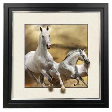 408 Horse 5d Lenticular Picture Frame 18x18