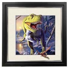 426 T-rex 5d Lenticular Picture Frame 18x18