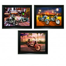 315 Motocycle 3D Lencticular Picture