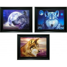 324 Wolf Triple Image