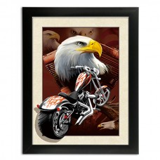 277 Harley Davidson  5D Picture 14x18