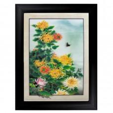 289 Fourseason Foliage Flower  5D Picture  Frame size 14x18