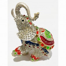 JF1831 Jewelry Case Happiness Elephant  or Dancing Elephant