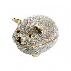 JF1825 Cute Pig trinket box