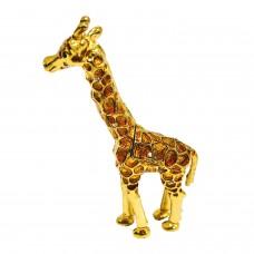 JF2428 Golden Giraffe Jewelry Case