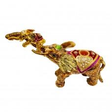 JF3014 Elephant and Bady Jewelry Case