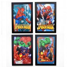881117 3D  Licensed Marvel picture 11x17 (1set of 4 )