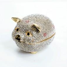 JF1825 Pig trinket box