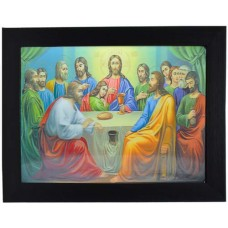 122 Religion Last Supper 3D Picture size 14x18