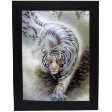131 White Tiger 3D Picture size 14x18