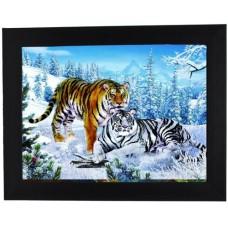 401361 Couple Tiger 3d picture size 18x25