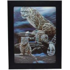 167 Leopard 3D Picture size 14x18