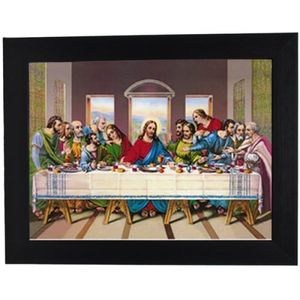 172 Last Supper 3D Picture size: 14x18