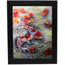 175 Koi Fish 3D Picture size 14x18