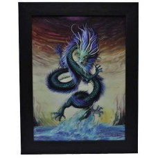 179 Dragon 3D Picture size 14x18