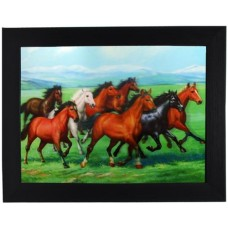 198 Horse 3D Picture size 14x18