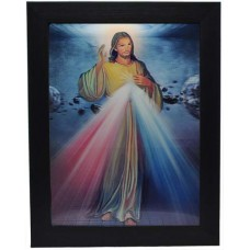199 Jesus Devine Mercy  3D Picture size 14x18