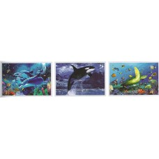 8325 LED Dolphin 3D Picture