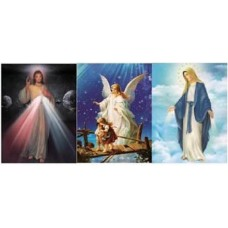 8335 LED Religious 3D Picture