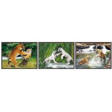 8339 LED Tiger 3D Picture