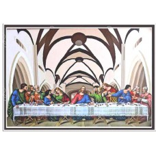 "26006 Last Supper  18""x26"" Oil Canvas"