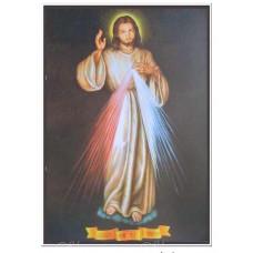 "26007 Jesus Light 18""x26"" Oil Canvas"