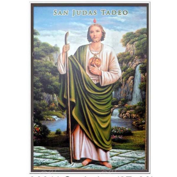 "36011 San Judas by Waterfall 27""x38"""