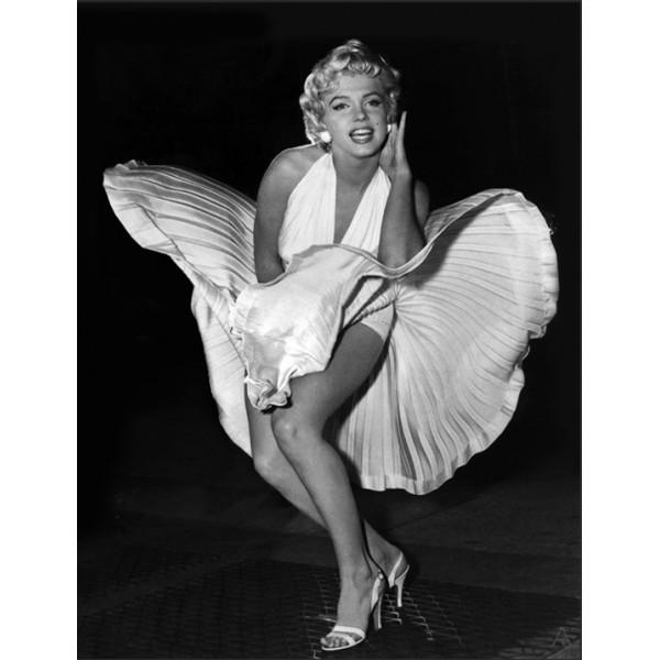 "36263 Marilyn Monroe 18""x26"" Oil Canvas"