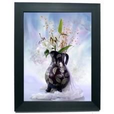401266 Lily Vase 3d picture size 18x25