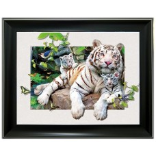 286 Tiger 5D Picture Size 14x18
