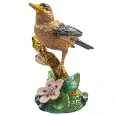 JF1255 Bird on Branch Jewelry Case