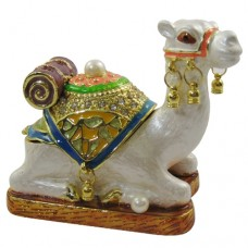JF1420 Seated Camel Jewelry Case