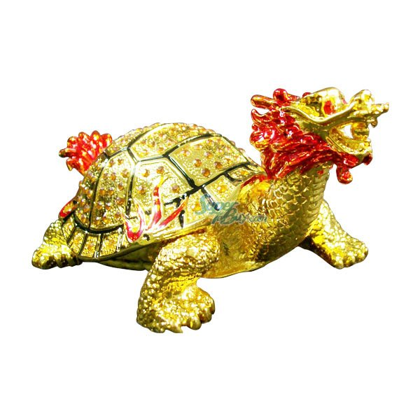 JF1428 Golden Dragon Turtle