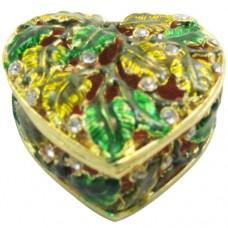JF1472 Heart Jewelry Case