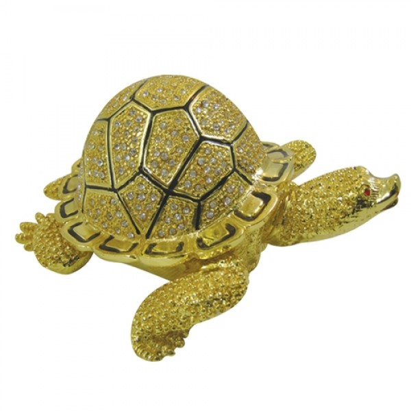 JF1666L Turtle Jewelry Case