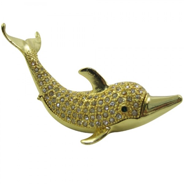JF1759 Dolphin Jewelry Case