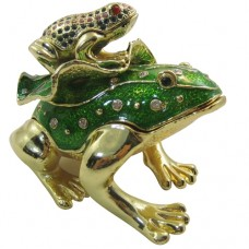 JF1798 Frogs Jewelry Case