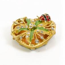 JF1817 Heart Jewelry Case