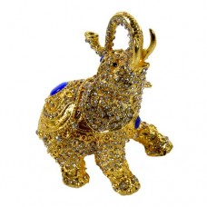 JF1987Golden Elephant Jewelry Case