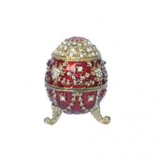 JF1852 Diamond Red Egg w. holder