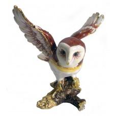JF1876 Owl Jewelry Case