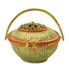 JF1902 Flower Basket Jewelry Case